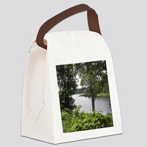 tahquamenon river Canvas Lunch Bag