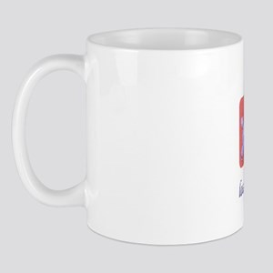 FIN-poodle-mini Mug