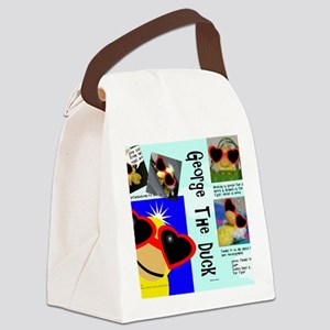 002011-front Canvas Lunch Bag