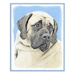 English Mastiff (Fawn) Small Poster
