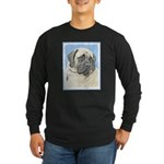 English Mastiff (Fawn) Long Sleeve Dark T-Shirt