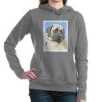 English Mastiff (Fawn) Women's Hooded Sweatshirt