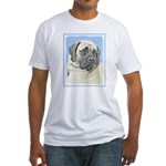 English Mastiff (Fawn) Fitted T-Shirt