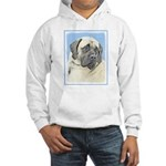 English Mastiff (Fawn) Hooded Sweatshirt