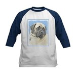 English Mastiff (Fawn) Kids Baseball Tee