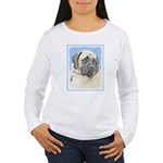 English Mastiff (Fawn) Women's Long Sleeve T-Shirt