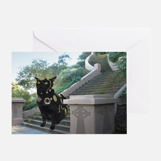 Sept/lickycat2/Armored Licky Greeting Card