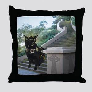 Sept/lickycat2/Armored Licky Throw Pillow