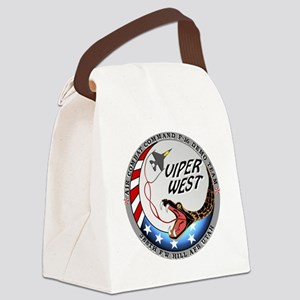 air force west demo team patch Canvas Lunch Bag