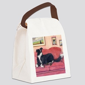 Where are my cushions? Canvas Lunch Bag