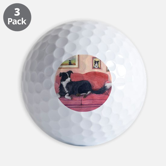 Where are my cushions? Golf Ball