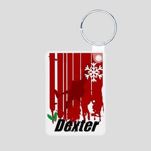 dexter-stocking Aluminum Photo Keychain