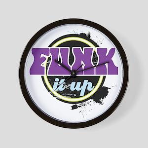 Funk it up Wall Clock