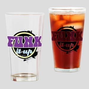 Funk it up Drinking Glass
