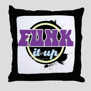 Funk it up Throw Pillow