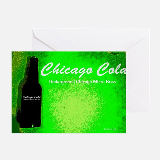 Chicago Cold III Greeting Card