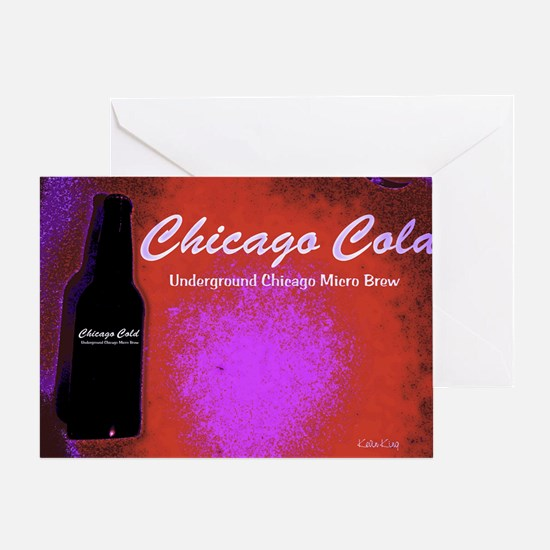 Chicago Cold I Greeting Card