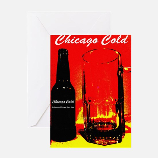 Chicago Cold II Greeting Card