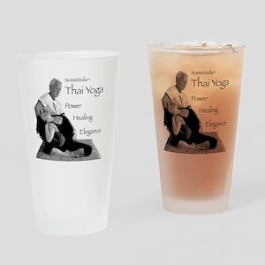 thai_tshirt1 Drinking Glass