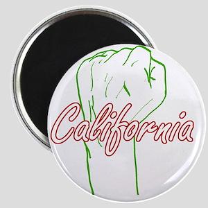 california-fist-pump Magnet