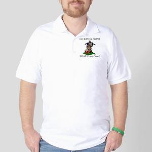 Beat Coast Guad (Smokey) Golf Shirt