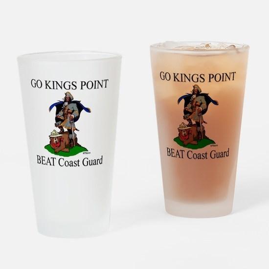 Beat Coast Guad (Smokey) Drinking Glass
