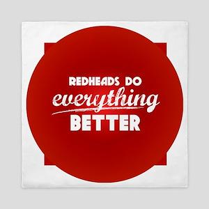 redheads_everything_rev Queen Duvet