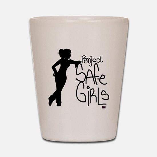 PROJECT SAFE GIRLS LOGO LG WITH TM900 Shot Glass