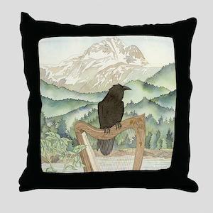 Harp Throw Pillow