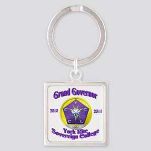 Grand Governor Square Keychain