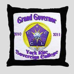 Grand Governor Throw Pillow