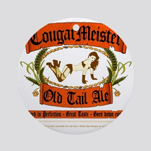 COUGARMEISTER Round Ornament