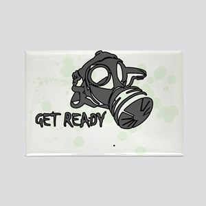getready1 Rectangle Magnet