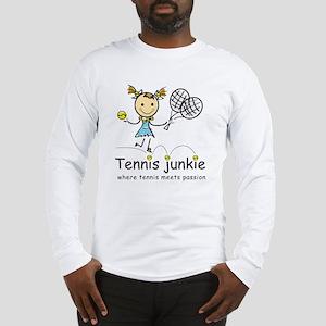 tennis_junkie2 Long Sleeve T-Shirt