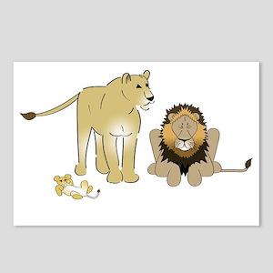 LionGroupdark Postcards (Package of 8)