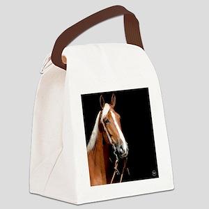 chestnut_rnd Canvas Lunch Bag