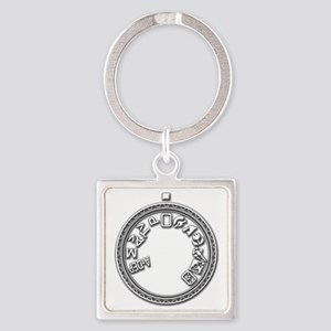 Mode Dial full rsd Square Keychain