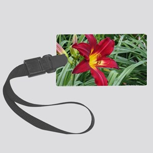 Daylily Spider Man Large Luggage Tag