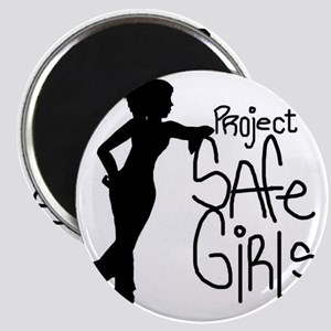 PROJECT SAFE GIRLS SMALLER Magnet