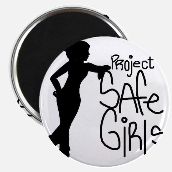 PROJECT SAFE GIRLS SMALLER Magnet