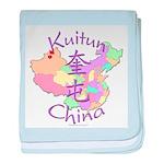 Kuitun China baby blanket