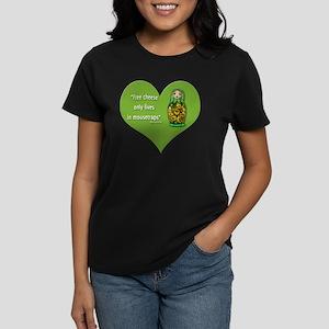 FreeCheese2 Women's Dark T-Shirt