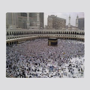 Last Day of Hajj Throw Blanket