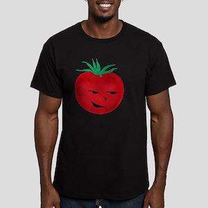 Tomate, Te mato Men's Fitted T-Shirt (dark)