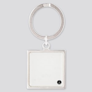 peacetrans Square Keychain
