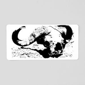 skullgraphic Aluminum License Plate