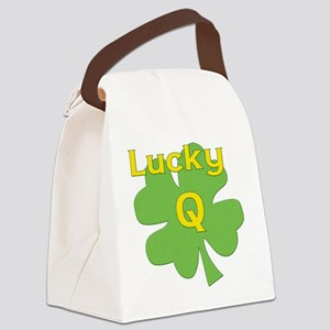 Lucky Q Canvas Lunch Bag