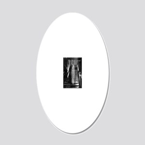 PIJournalBrwn 20x12 Oval Wall Decal
