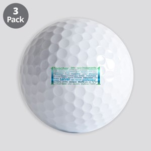 # 1 Teacher Golf Ball