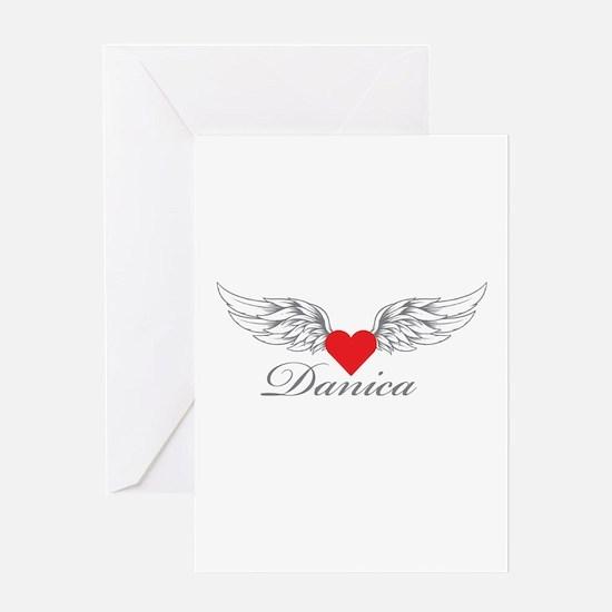 Angel Wings Danica Greeting Cards